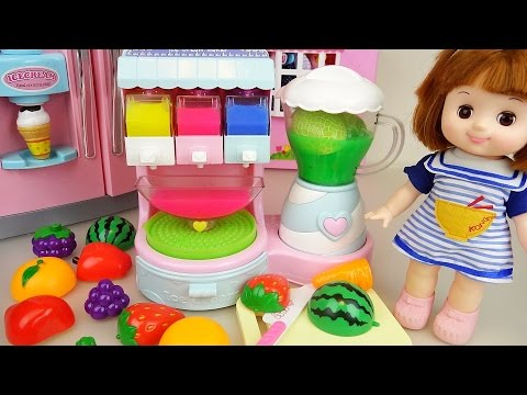 Xxx Mp4 Fruit Ice Cream Shaker And Baby Doll Refrigerator Toys Play 3gp Sex