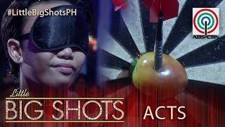 Little Big Shots Philippines: Bebang | 12-year-old Darts Champion