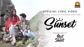 Agatha Chelsea Ft. Maxime Bouttier - Sunset (Official Lyric Video)