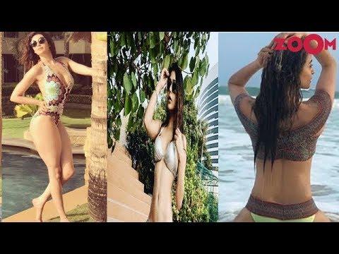 Xxx Mp4 TV Actress Karishma Tanna Sara Khan Surveen Chawla S Hot Avatars 3gp Sex