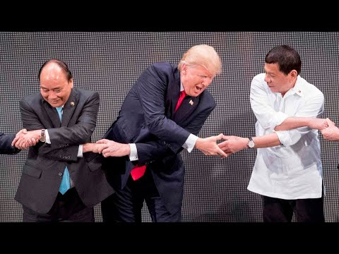 Trump s strangest moments of 2017
