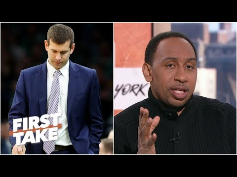 Stephen A. Smith didn t expect roller coaster season from Celtics & Brad Stevens First Take