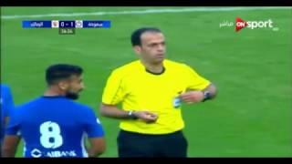 اهدار  مصطفى فتحى ضربة الجزاء الزمالك   وسموحة ..
