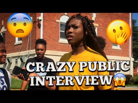HOW DO YOU FEEL ABOUT YOUR EX 😭 PUBLIC INTERVIEW COLLEGE EDITION