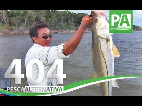 Programa Pesca Alternativa PGM 404 Nelson Nakamura e os Grandes Robalos