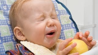 Babies Eating Lemons for the First Time Compilation Part 3