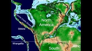 Plate Tectonic Evolution of North America - Scotese Animation