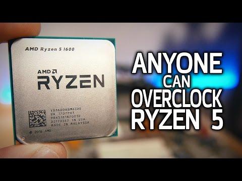 How To Overclock Ryzen 5! (The EASY Way)