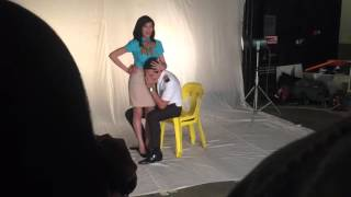 Just The 3 Of Us Movie Poster Pictorial (Behind The Scenes)