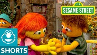 Sesame Street: Julia and Sam's Starfish Hug
