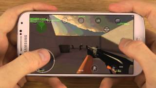 Counter-Strike 1.6 Samsung Galaxy S4 Gameplay Review