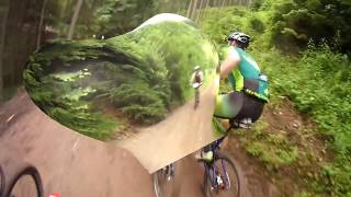 Mountain Bike Cycling Video for Indoor Training 50 Minute Full HD Drift Camera