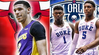10 Draft Night Trades That Would Change The NBA | Zion And RJ On The Pelicans?