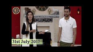 Good Morning Pakistan - 31st July 2017 - Top Pakistan Show