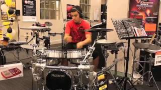 Brad Cowdrey Roland V-Drums World Championships