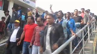 Ashuganj Rail Bikkhub Video Footage  05 01 2017
