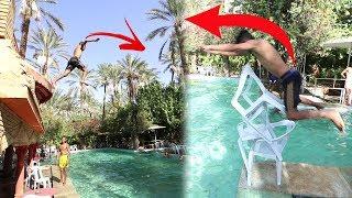 تحديات مستحيلة في المسبح !!!