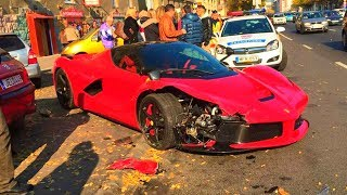SUPERCAR CRASHES, EXPENSIVE & LUXURY CAR ACCIDENTS Compilation July 2018