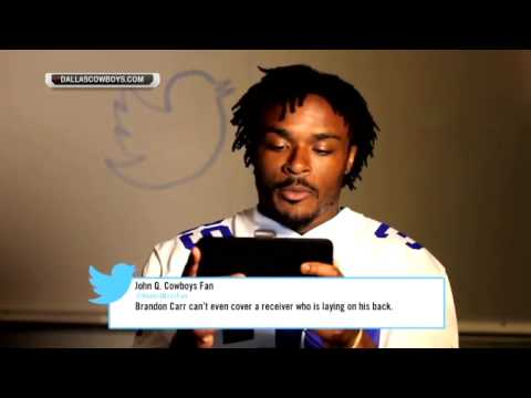 Nfl players read mean tweets