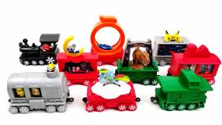 2017 NEXT McDONALD'S HOLIDAY EXPRESS TRAIN HAPPY MEAL TOYS WORLD COLLECTION 9 KIDS EUROPE ASIA USA