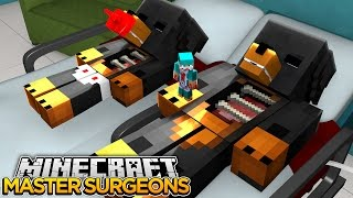 Minecraft MASTER SURGEON FINALE - CAN DONUT PASS THE TEST?? - donut the dog minecraft roleplay