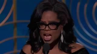 Golden Globes 2018: Watch Oprah Winfrey speak on future of women