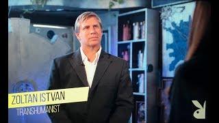 Transhumanist Zoltan Istvan interviews on Playboy TV
