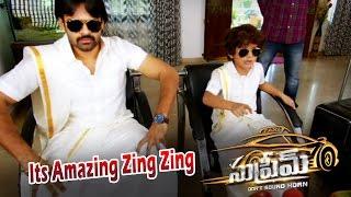 Supreme | Zing Zing Amazing Kid Trailer 3 | Sai Dharam Tej, Raashi Khanna