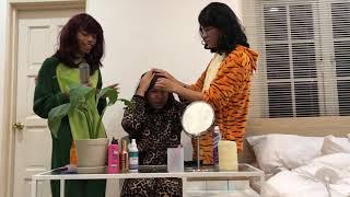 Hair (PARODY) (Behind The Scenes) | THEFAIZROSLAN