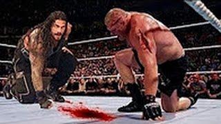 #مباراة اسطورية4 - رومان رينز ضد بروك ليسنر - من افضل المواجهات المصارعة الحرة