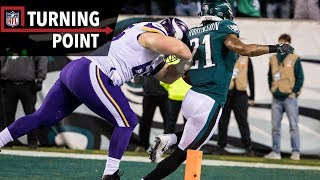 38 Unanswered Eagles' Points Closes the Case on Vikings Season (NFC Champ) | NFL Turning Point