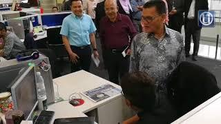 MB Pahang lawat ibu pejabat Kumpulan Utusan