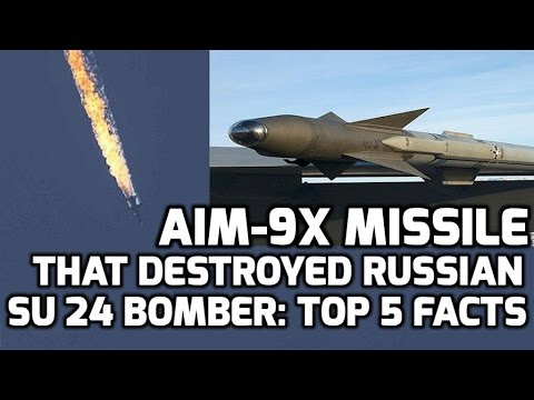 AIM 9X SIDEWINDER MISSILE: TOP 5