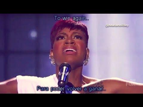 "Fantasia - ""Lose To Win"" - AMERICAN IDOL 2013 (EspañolEnglish lyrics)"