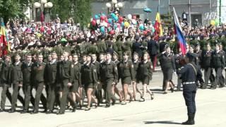 Парад  в Сызрани   9 05 2016 г