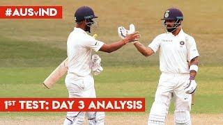 #AUSvIND: INDIA in command: #AakashVani