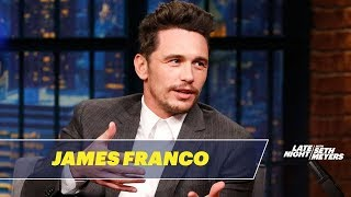 James Franco Shares Tommy Wiseau