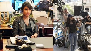 Priyanka Chopra Shoots Quantico Promo In Hindi