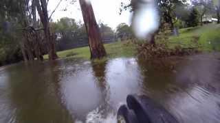 Electric bike + water =