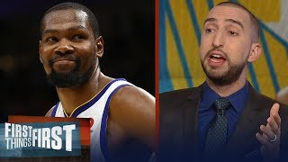 Nick Wright on Durant