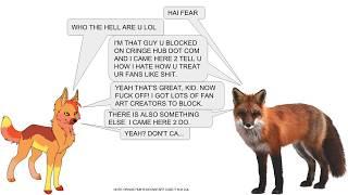 JASON SHOVES FEAR UP HIS ASS - EPIK FOX ANAL VORE STORY/ANIMATION