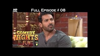 Comedy Nights Live - John Abraham & Diya - 20th March 2016 - Full Episode (HD)