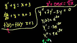 Introduction to differential equations (Bangla)