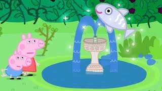 Peppa Pig English Episodes | Mystery Fountain! | #139