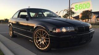 $600 Drift Car Transformation   BMW Budget Drifter