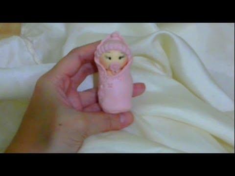 AULA 4 Curso de Biscuit para Iniciantes Bebê na Trouxa