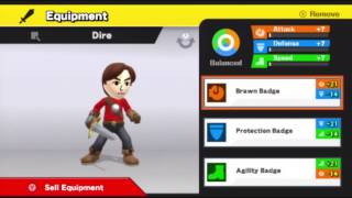 Tutorial For How To Unlock And Customize The Mii Fighter Character In Super Smash Bros. For Wii U