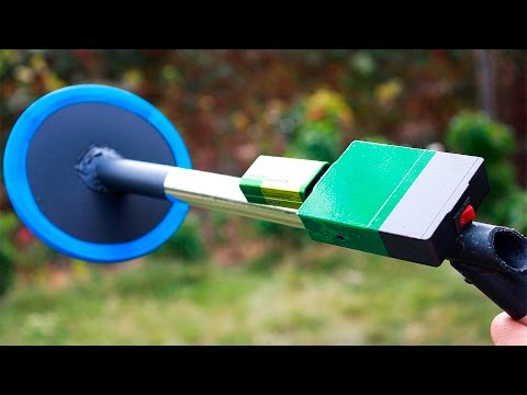 Как сделать мини металлоискатель своими руками/How to make a DIY metal detector