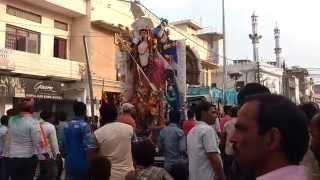 Bhavya durga puja in Bhadohi
