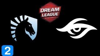 Liquid vs Secret Game 2  DreamLeague season 7 Highlights Dota 2